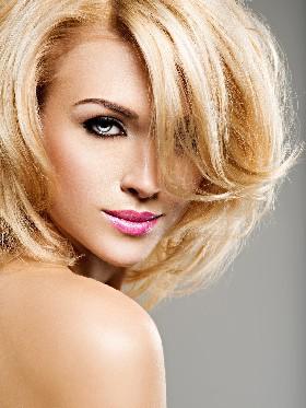 blonde haar