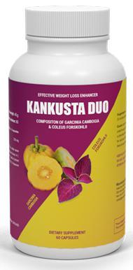 Kankusta Duo voedingssupplement voor gewichtsverlies
