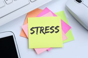 stress in verbindung mit dem learning by sprache